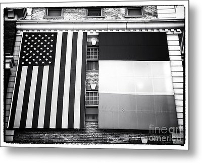 Irish American Metal Print by John Rizzuto