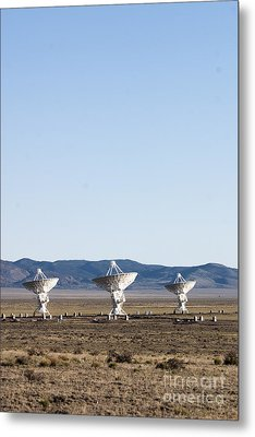 Is There Something Out There Metal Print by Steven Ralser