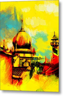 Islamic Painting 001 Metal Print by Catf