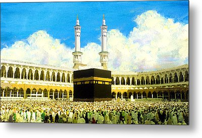 Islamic Painting 006 Metal Print by Catf