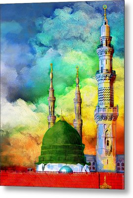 Islamic Painting 009 Metal Print by Catf