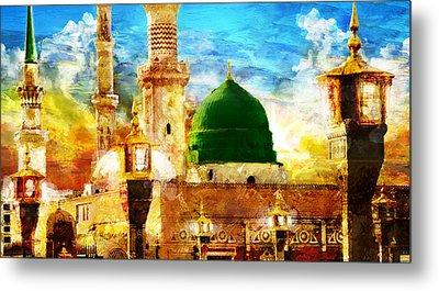 Islamic Paintings 005 Metal Print by Catf