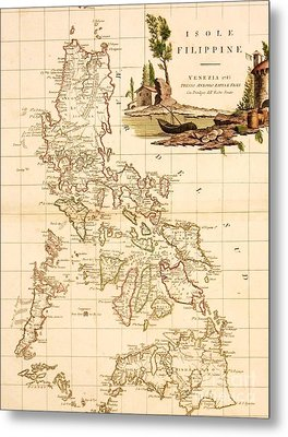 Isole  Filippine Metal Print by Pg Reproductions