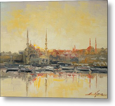 Istanbul- Hagia Sophia Metal Print by Luke Karcz