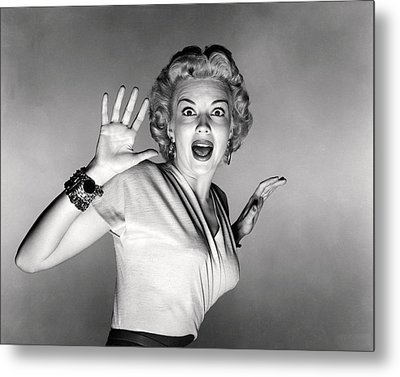 It Came From Outer Space  Metal Print by Silver Screen