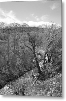 It Flows From The Source - California Metal Print by Glenn McCarthy Art and Photography