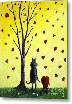It Must Be Love By Shawna Erback Metal Print by Shawna Erback