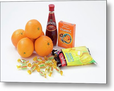 Items Containing Carboxylic Acid Metal Print by Trevor Clifford Photography