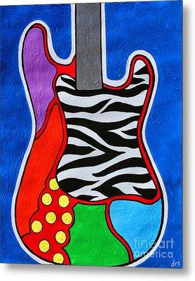It's Electric Acrylic By Diana Sainz Metal Print by Diana Sainz