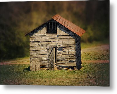 Itsy Bitsy Cabin Metal Print by EricaMaxine  Price