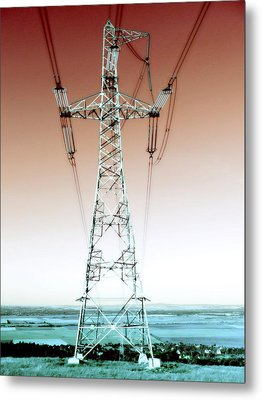 I've Got The Power Metal Print by Marianna Mills