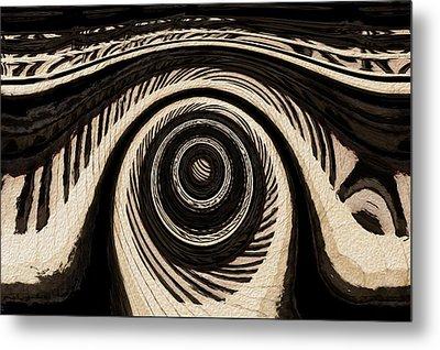 Ivory Metal Print by Jack Zulli