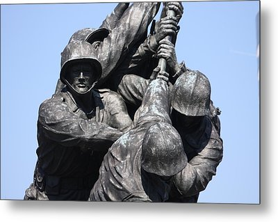 Iwo Jima Memorial - 12124 Metal Print by DC Photographer