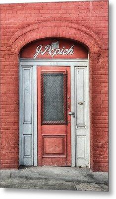 J. Popich Metal Print by Brenda Bryant