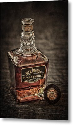 Jack Daniel's Single Barrel Metal Print by Erik Brede