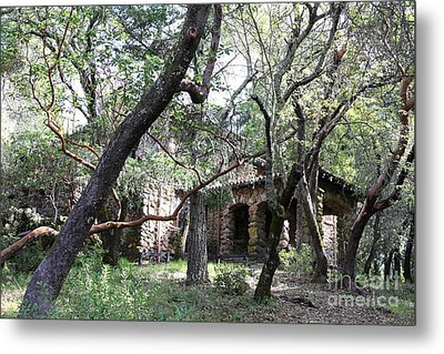 Jack London House Of Happy Walls 5d21961 Metal Print by Wingsdomain Art and Photography