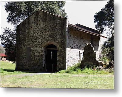 Jack London Ranch Distillery 5d22173 Metal Print by Wingsdomain Art and Photography