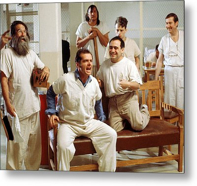 Jack Nicholson In One Flew Over The Cuckoo's Nest  Metal Print by Silver Screen