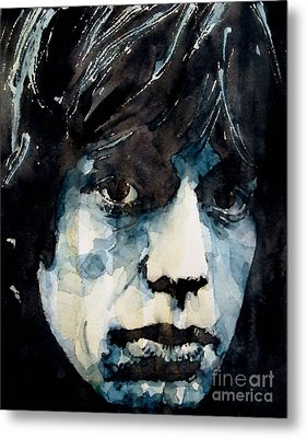 Jagger No3 Metal Print by Paul Lovering
