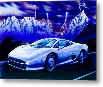 Jaguar 220 Metal Print by Garry Walton