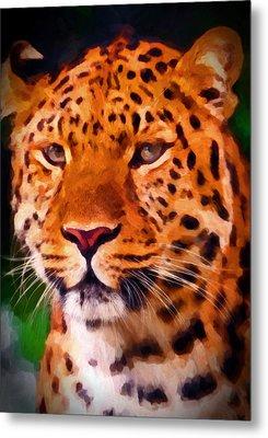 Jaguar Metal Print by Michael Pickett