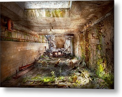 Jail - Eastern State Penitentiary - The Mess Hall  Metal Print by Mike Savad