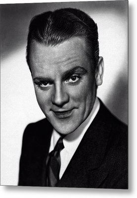 James Cagney Metal Print by Doc Braham