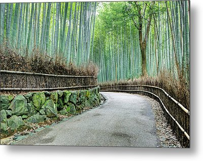 Japan, Kyoto Road Metal Print by Jaynes Gallery