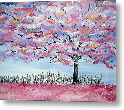 Japanese Fantasy Metal Print by Cathy Jacobs