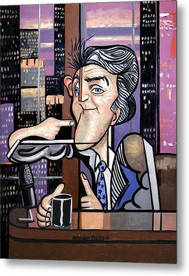 Jay Leno You Been Cubed Metal Print by Anthony Falbo