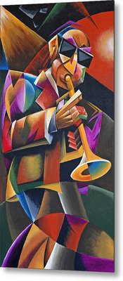 Jazz Horn Metal Print by Bob Gregory