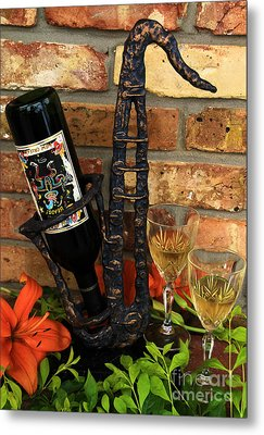 Jazzing Up The Big Easy Metal Print by Karry Degruise