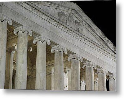 Jefferson Memorial - Washington Dc - 01131 Metal Print by DC Photographer
