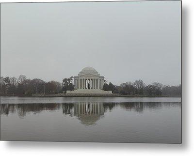 Jefferson Memorial - Washington Dc - 01136 Metal Print by DC Photographer