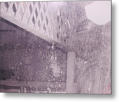 Jefferson Texas Ghost Eyes Metal Print by Donna Wilson