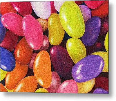 Jelly Beans Metal Print by Anastasiya Malakhova