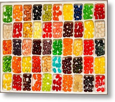 Jelly Beans Metal Print by Anne Kitzman