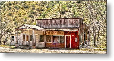Jerome Arizona - General Store Metal Print by Gregory Dyer