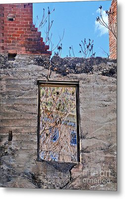 Jerome Arizona - Ruins - 02 Metal Print by Gregory Dyer