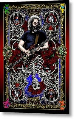 Jerry Card Metal Print by Gary Kroman