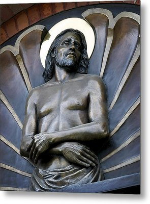 Jesus Cathedral Icon -  Spokane Washington Metal Print by Daniel Hagerman