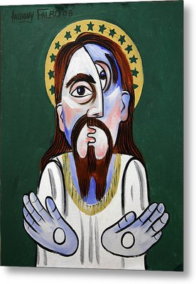 Jesus Christ Superstar Metal Print by Anthony Falbo