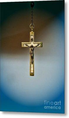 Jesus On The Cross 4 Metal Print by Paul Ward