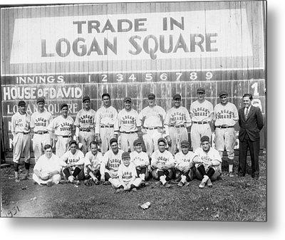 Logan Squares Semi-pro  Metal Print by Retro Images Archive
