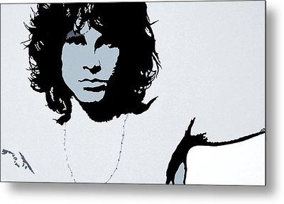Jim Morrison Metal Print by Bryan Dubreuiel