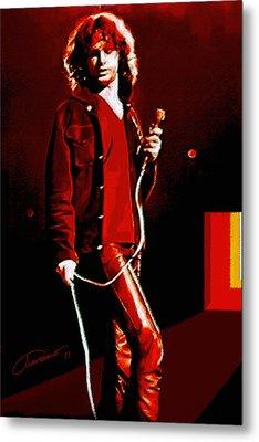 Jim Morrison Metal Print by John Travisano
