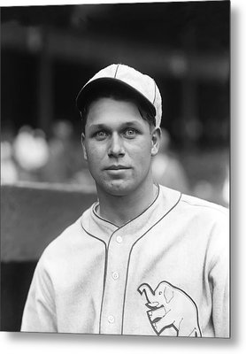 Jimmie Foxx Close Up Metal Print by Retro Images Archive
