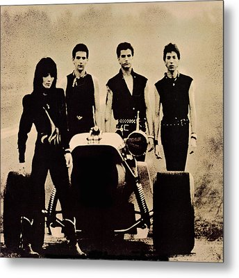 Joan Jett - Glorious Results Of A Misspent Youth 1984 - Back Cover Metal Print by Epic Rights