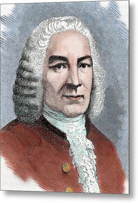Johann Sebastian Bach (eisenach Metal Print by Prisma Archivo