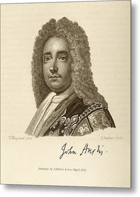 John Anstis Metal Print by Middle Temple Library
